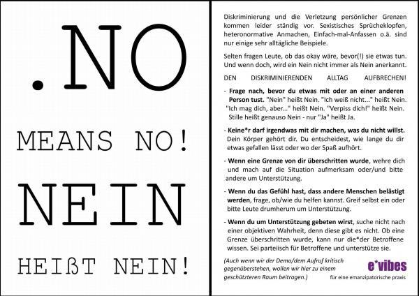 no means no flyer 19.04.